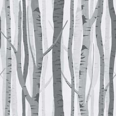 Wilko Trees Wallpaper Black/Grey WP332118 at wilko.com