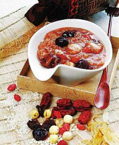 Laba Porridge - Rice porridge with nuts and dried fruit eaten on the 8th day of the 12th Lunar month ~(腊八粥)