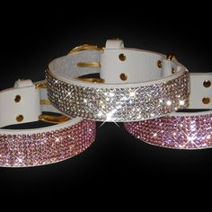 bling crystal dog collar