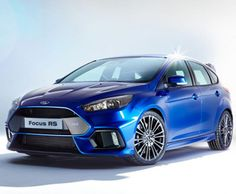 The New Ford #FocusRS is scheduled to go on sale in 2016 with four-wheel-drive and a 2.3-litre EcoBoost turbo engine delivering 318bhp. Prices reportedly starting from under £30,000.