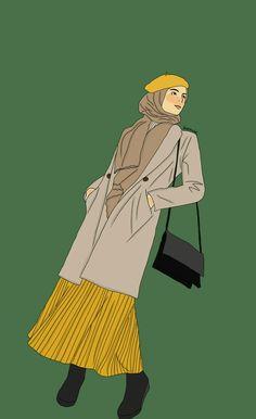 @z_zbaidah  #girl #hijab #ootd #fashionhijab #fashionillustration #illustration #sarstudios Hijab Cartoon, Cartoon Icons, Cartoon Art, Fashion Model Drawing, Fashion Design Drawings, Cartoon Girl Drawing, Girl Cartoon, Hijab Drawing, Anime Muslim
