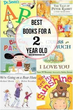 A fabulous collection of the best books for 2 year old girls