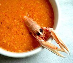 Sopa de pescado con picada | Recetas con fotos paso a paso El invitado de invierno