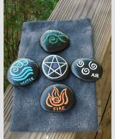A simple craft that can be done from home. Can be used as altar stones, meditation anchors, or even circle stones!
