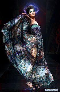 Deng Hao, China Fashion Week 2012