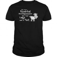 your family and friend:  The Most Powerful Antidepressant Goat Tee Shirts T-Shirts