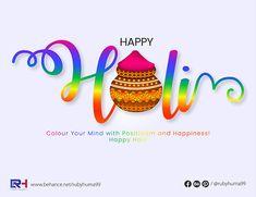 Creative on Holi - Adobe Illustrator on Behance Holi, Adobe Illustrator, Behance, Creative, Illustration, Holi Celebration, Illustrations