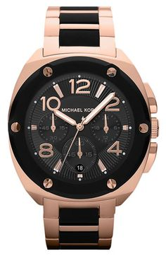 Michael Kors 'Tribeca' Chronograph Bracelet Watch available at Nordstrom