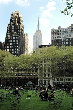 Bryant Park, Manhattan One of our favorite places in the city