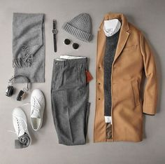 Smart & Edgy Formal Outfit For Winter – Capsule Wardrobe For Men & Women, Essential Wardrobe For Men & Women Mode Outfits, Casual Outfits, Fashion Outfits, Fashion Clothes, Formal Outfits, Men Clothes, Fashion Styles, Style Fashion, Stylish Men