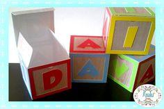 Caixinha cubo de letras Toy Story                                                                                                                                                                                 Mais