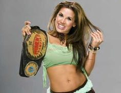 Mickie James is an American professional wrestler and singer of mixed Native American (Powhatan).