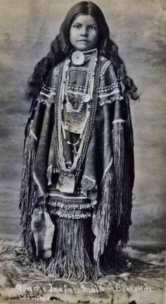 Chiricahua Apache girl