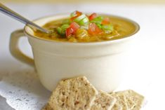 Curried Lentil Soup - http://www.onegreenplanet.org/foodandhealth/recipe-curried-lentil-soup/