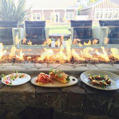 Join us at FARM for small bites by the fire #foodie #thecarnerosinn #food#yum #cheers #fireside #bayarea#visitnapavalley #napa #farm