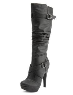 Charlotte Russe---FABULOUS Shoes and Boots at reasonable prices!