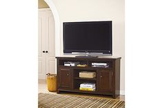 Shop for Signature Design by Ashley Hindell Park Dark Brown Large TV Stand with Fireplace. Get free delivery On EVERYTHING* Overstock - Your Online Home Decor Outlet Store! Ashley Furniture, Affordable Furniture, Furniture Shop, Furniture, Large Tv Stands, Fireplace Tv Stand, Furniture Mall Of Kansas, Ashley Furniture Homestore, Home Decor Outlet