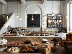 The Primrose Hill location is my original favorite, but the one in Hamstead Heath is equally lovely. The homemade marmalade (with grapefruit and seville oranges) is amazing.  And they have prepared and packaged treats to take away.  The design is impeccable, and I always find time to make a stop ...
