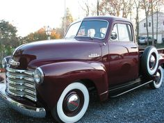 This is my truck that took 10 years to restore! 1953 Chevy Truck