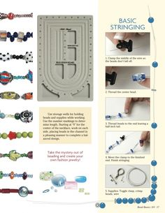 Basic Stringing and Knotting: How to String Beads | Kollabora