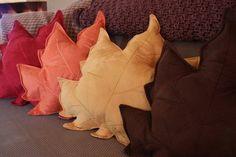 Fall decoration pillows. so cute