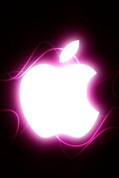 Iphone 4 Apple Wallpaper Pink by thekingofthevikings on DeviantArt