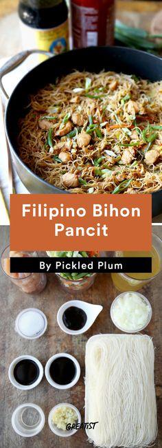 5. Filipino Bihon Pancit #greatist http://greatist.com/eat/easy-stir-fry-recipes-to-make-during-the-week