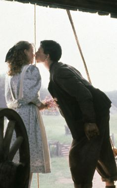 Gus & Felicity in Road To Avonlea: How Kissing was Invented