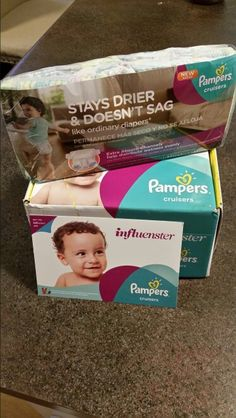 Go from #SagToSwag with the new Pampers Cruisers diapers! @Influenster  I received these products complimentary for testing purposes.