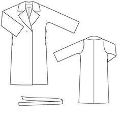 Clothing Patterns, Sewing Patterns, Vest Jacket, Diy Clothes, Coat, Fabric, T Shirt, Pants, Jackets