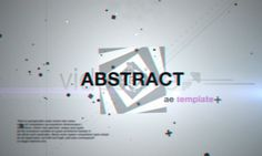 33 Abstract After Effects Templates on http://naldzgraphics.net