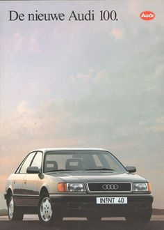 AUDI - 100 full brochure/folder Dutch 1992 4x4, Audi 200, Alfa Romeo 156, Vw Group, Audi Cars, Car Brands, Bmw M3, Cars And Motorcycles, Vintage Cars