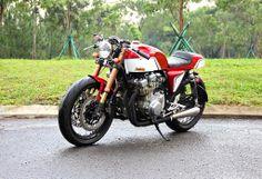 """Suzuki GSX 750 '80 """"The Rew"""" by Studio Motor"""