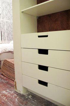 Ikea hack. Besta and Stuva built-in.