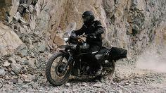 The Royal Enfield's New Himalayan Bike