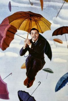 Gene Kelly, en Cantando bajo la lluvia, 1952