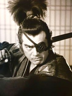 Yagyu Jyubei (柳生十兵衛) 1607-1650, Japanese Great Swordsman | Played by Japanese actor Chiba Shinichi (千葉真一) 1939 - ....! Ninja, Sonny Chiba, Toshiro Mifune, Film Stills, Japanese Warrior, Japanese Characters, Musashi, Kendo, Japanese Film