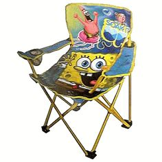 Nickelodeon SpongeBob Squarepants Folding Camp Chair