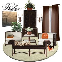 """Baker Furniture"" by designsbytraci on Polyvore"