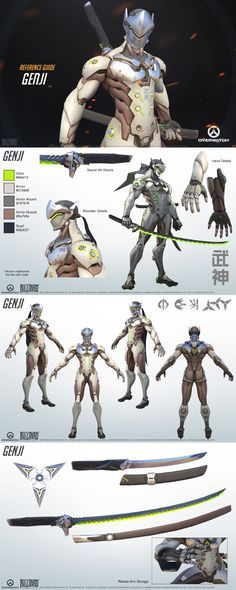 Genji Cosplay Reference Guide - Overwatch