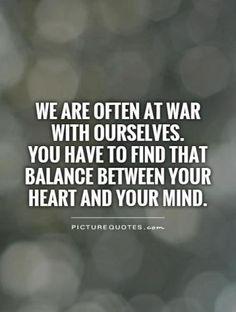 balance between heart and mind