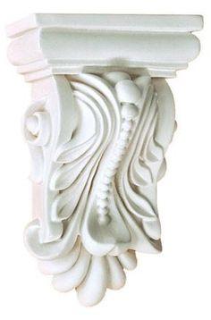 X X Proj - Wakulla Extra Short Decorative Corbels - Corbel Place Interior Window Trim, Interior Staircase, Wedding Columns, Stair Brackets, Decorative Corbels, Pillar Design, Architecture Drawing Art, Console, Stone Carving