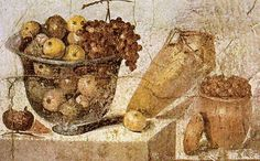 "last-of-the-romans: "" Roman Frescoes from the House of Julia in Pompeii. Museo Archeologico Nazionale (Naples) """