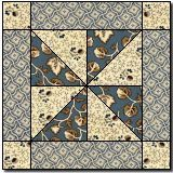 Forest Paths free quilt block pattern