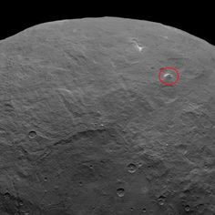 NASA spies 3-mile-tall 'pyramid,' more bright spots on Ceres. Dwarf planet Ceres gets weirder as NASA's Dawn spacecraft gets closer. Check out the latest shots from the cosmic paparazzi.