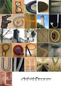 A-Z / Alphabet Project by Ashish Parmar, via Flickr
