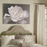 Trademark Art Lovely Gardenia Photographic Print on Wrapped Canvas Size: Art Studio At Home, Home Art, White Gardenia, Monochrome Color, Botanical Wall Art, Bathroom Art, Chicano, Metal Wall Art, Painting Prints