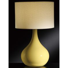 """Crestview Collection Cabot 28"""" H Table Lamp with Drum Shade"""