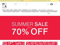 #Moda in Pelle - 10% off Sale items in the Up to 80% off Summer Sale.