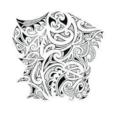 A Polynesian arm tattoo in Maori style! Maori Tattoos, Maori Tribal Tattoo, Polynesian Tribal Tattoos, Polynesian Art, Polynesian Tattoo Designs, Maori Tattoo Designs, Samoan Tribal, Borneo Tattoos, Filipino Tribal